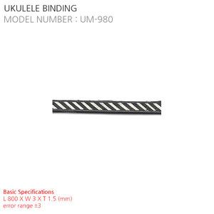 UKULELE BINDING UM-980