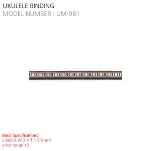 UKULELE BINDING UM-981