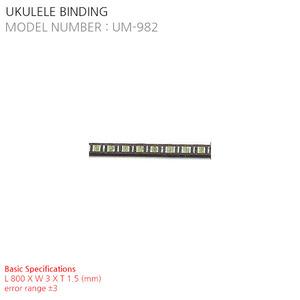 UKULELE BINDING UM-982
