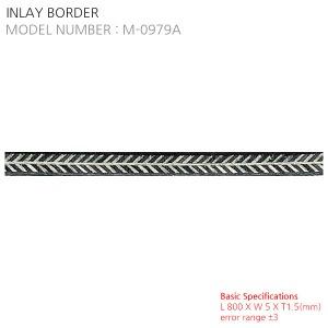 INLAY BORDER M-0979A