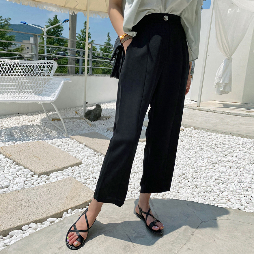 Straight Leg Slacks