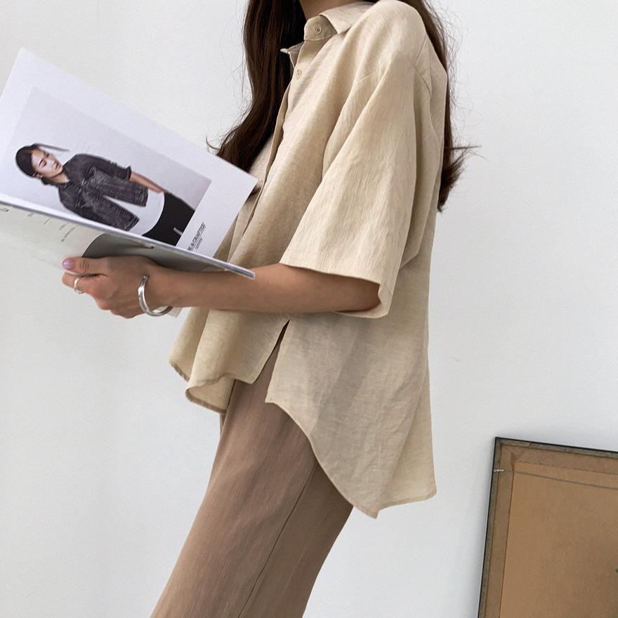 Inverted Back Pleat Shirt