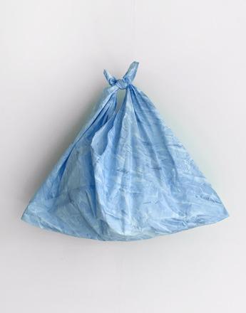 물나염 블루 에코백  (새상품)