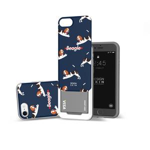 아이폰 SE2 8/7 슬라이더 그래픽 비글 케이스, 디자인스킨 케이스 몰, 커플케이스, 튼튼한케이스, 고급케이스, 아이폰케이스, 갤럭시케이스, 자수케이스