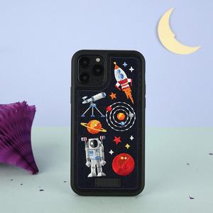 아이폰11프로맥스 프리미엄 풀자수 우주 케이스, 디자인스킨 케이스 몰, 커플케이스, 튼튼한케이스, 고급케이스, 아이폰케이스, 갤럭시케이스, 자수케이스