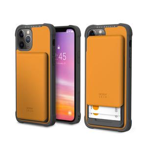아이폰12프로 슬라이더 카드 케이스_옐로우, 디자인스킨 케이스 몰, 커플케이스, 튼튼한케이스, 고급케이스, 아이폰케이스, 갤럭시케이스, 자수케이스