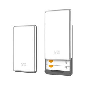핸드폰 부착형 슬라이더 카드 수납 케이스_화이트, 디자인스킨 케이스 몰, 커플케이스, 튼튼한케이스, 고급케이스, 아이폰케이스, 갤럭시케이스, 자수케이스
