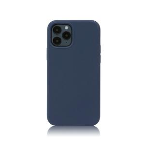 아이폰12 실리콘 케이스_네이비블루, 디자인스킨 케이스 몰, 커플케이스, 튼튼한케이스, 고급케이스, 아이폰케이스, 갤럭시케이스, 자수케이스