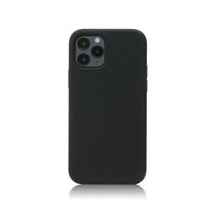 아이폰12프로 실리콘 케이스_블랙, 디자인스킨 케이스 몰, 커플케이스, 튼튼한케이스, 고급케이스, 아이폰케이스, 갤럭시케이스, 자수케이스