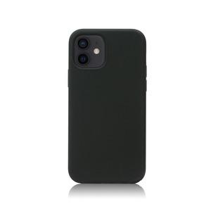 아이폰12미니 실리콘 케이스_블랙, 디자인스킨 케이스 몰, 커플케이스, 튼튼한케이스, 고급케이스, 아이폰케이스, 갤럭시케이스, 자수케이스