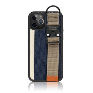 아이폰12프로맥스 버클 스트랩 카드케이스-네이비, 디자인스킨 케이스 몰, 커플케이스, 튼튼한케이스, 고급케이스, 아이폰케이스, 갤럭시케이스, 자수케이스