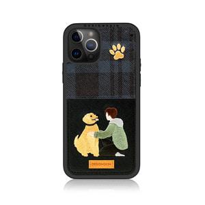 아이폰12프로맥스 라이프 자수 포켓 카드 케이스, 디자인스킨 케이스 몰, 커플케이스, 튼튼한케이스, 고급케이스, 아이폰케이스, 갤럭시케이스, 자수케이스