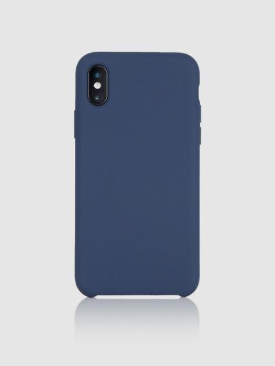 아이폰 실리콘타입 케이스 Ver.1-네이비, 디자인스킨 케이스 몰, 커플케이스, 아이폰케이스, 갤럭시케이스, 자수케이스