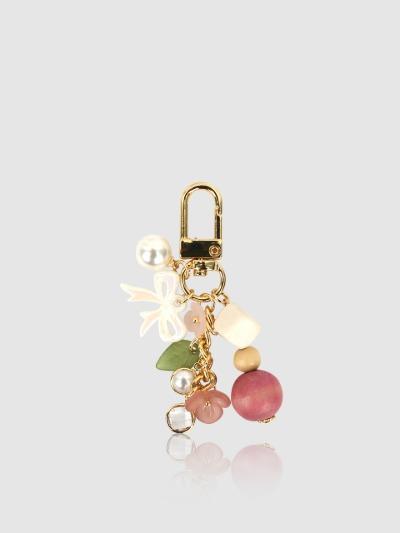 에어팟 갤럭시 버즈 키링 핑크 벚꽃, 디자인스킨 케이스 몰, 커플케이스, 아이폰케이스, 갤럭시케이스, 자수케이스