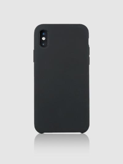 아이폰 실리콘타입 케이스 Ver.1-블랙, 디자인스킨 케이스 몰, 커플케이스, 아이폰케이스, 갤럭시케이스, 자수케이스