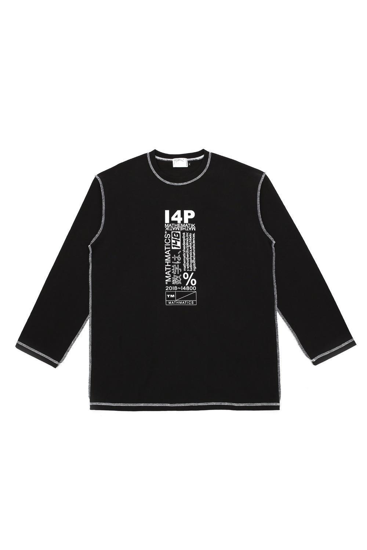 [I4P] I4P Stitch Long Sleeve Black