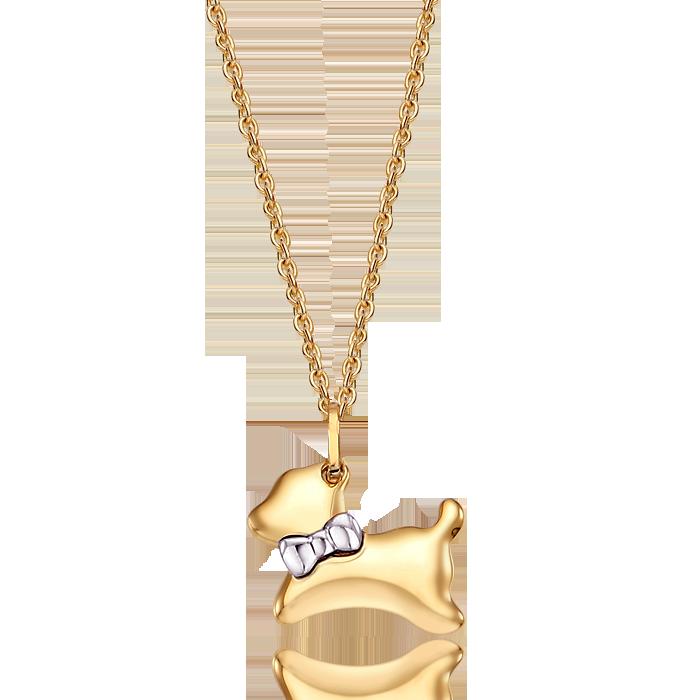 14K/18K Gold Oriental Zodiac Dog Necklace