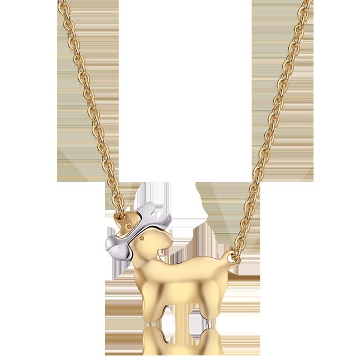 14K/18K Gold Oriental Zodiac Ox Necklace