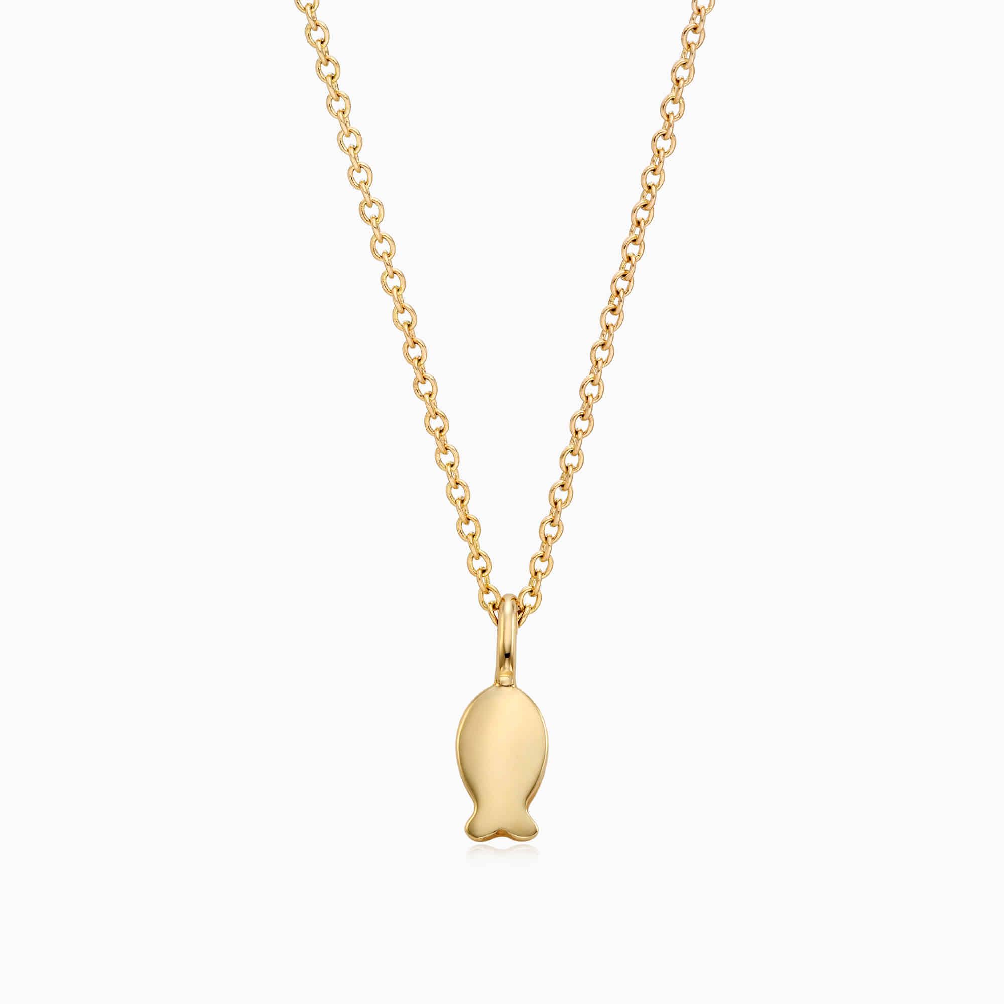 14K/18K Gold Kaiu Hope Necklace- Carp Necklace