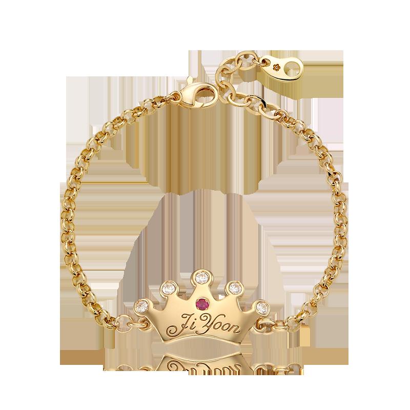 14K / 18K Gold Kaiu Tiara Baby Bracelet