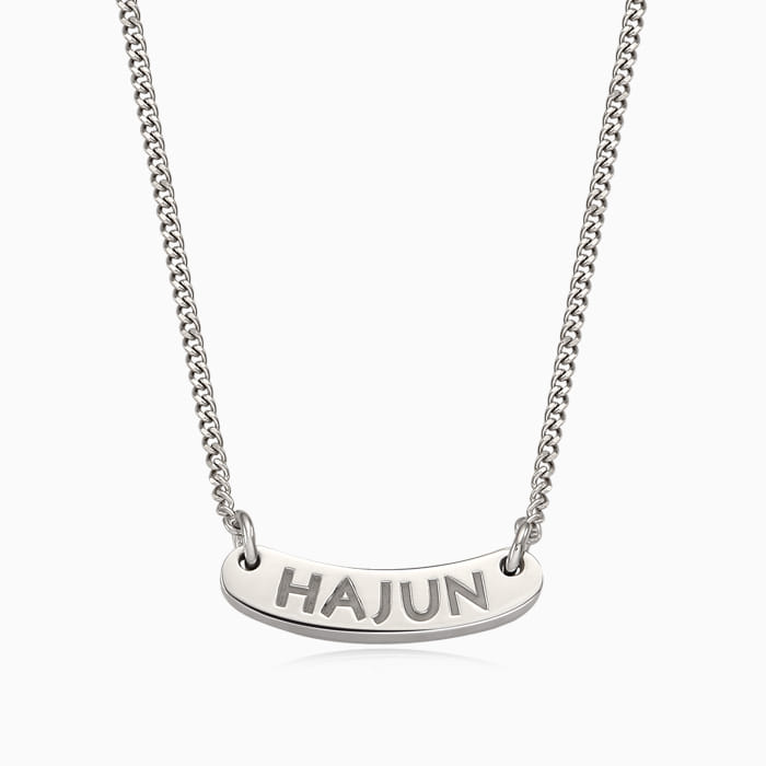 Kaiu Silver Anti-Marriage Necklace-Best Stick Necklace