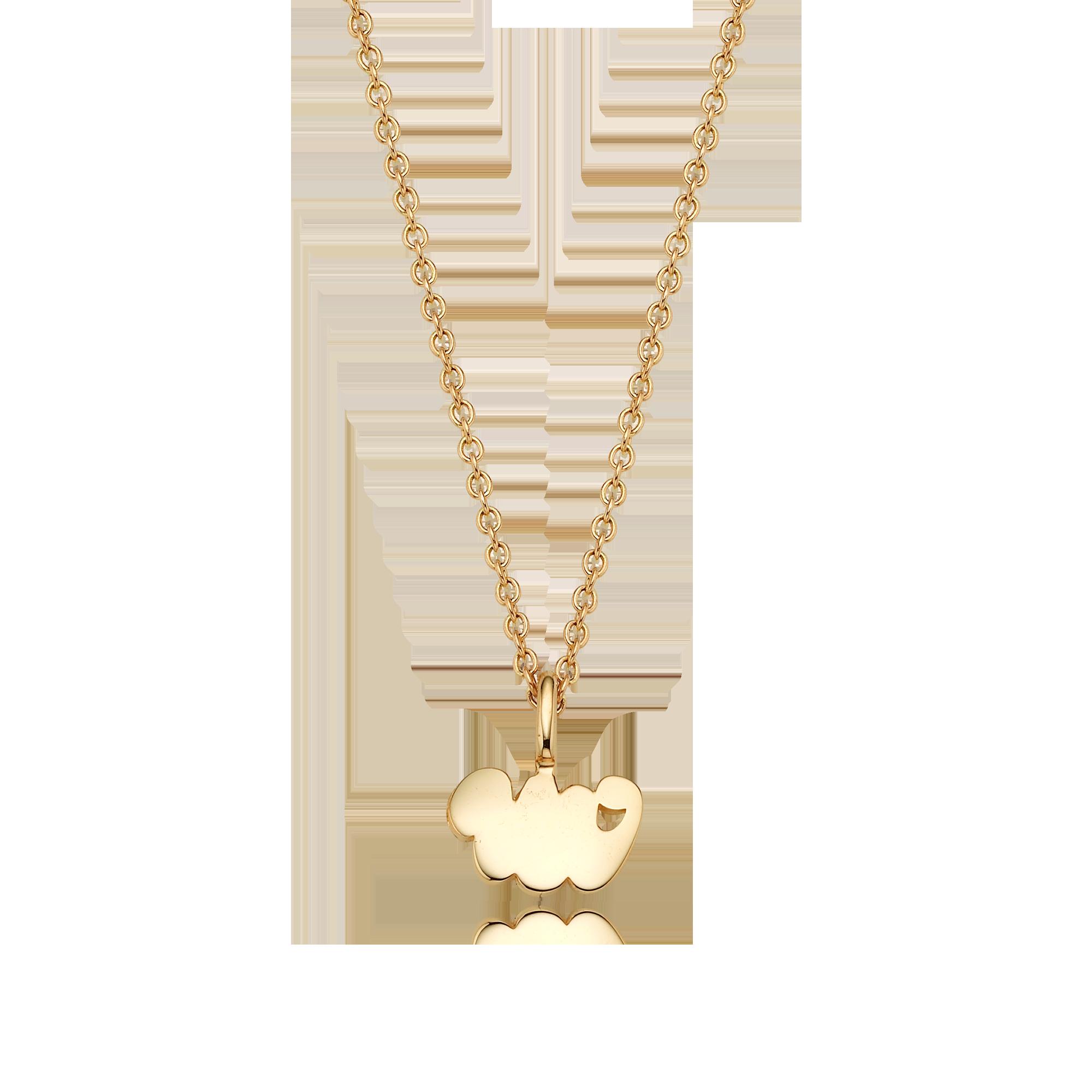 14K/18K Gold Mini Zodiac Snake - My Guardian Animal Necklace