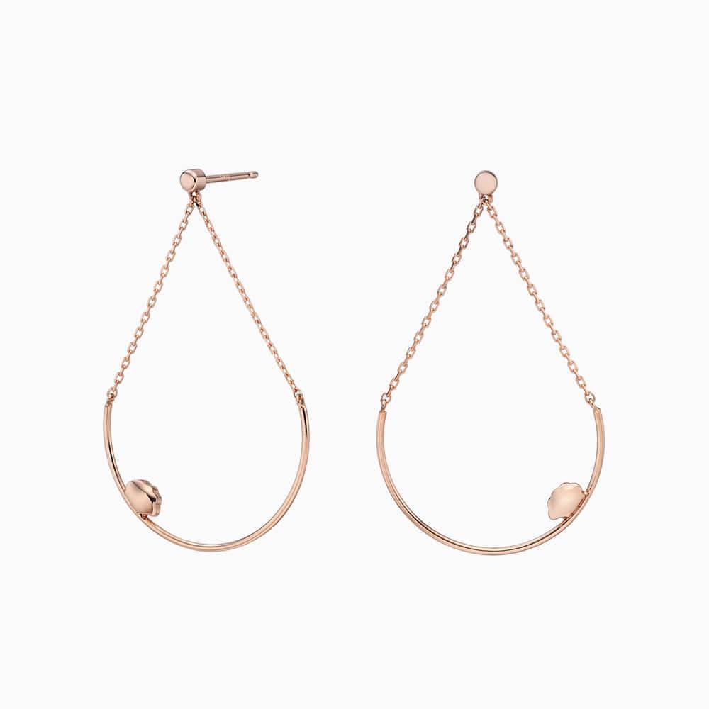 14k Rose Gold Elle Kaiu E2 Earrings No.8-Sheep