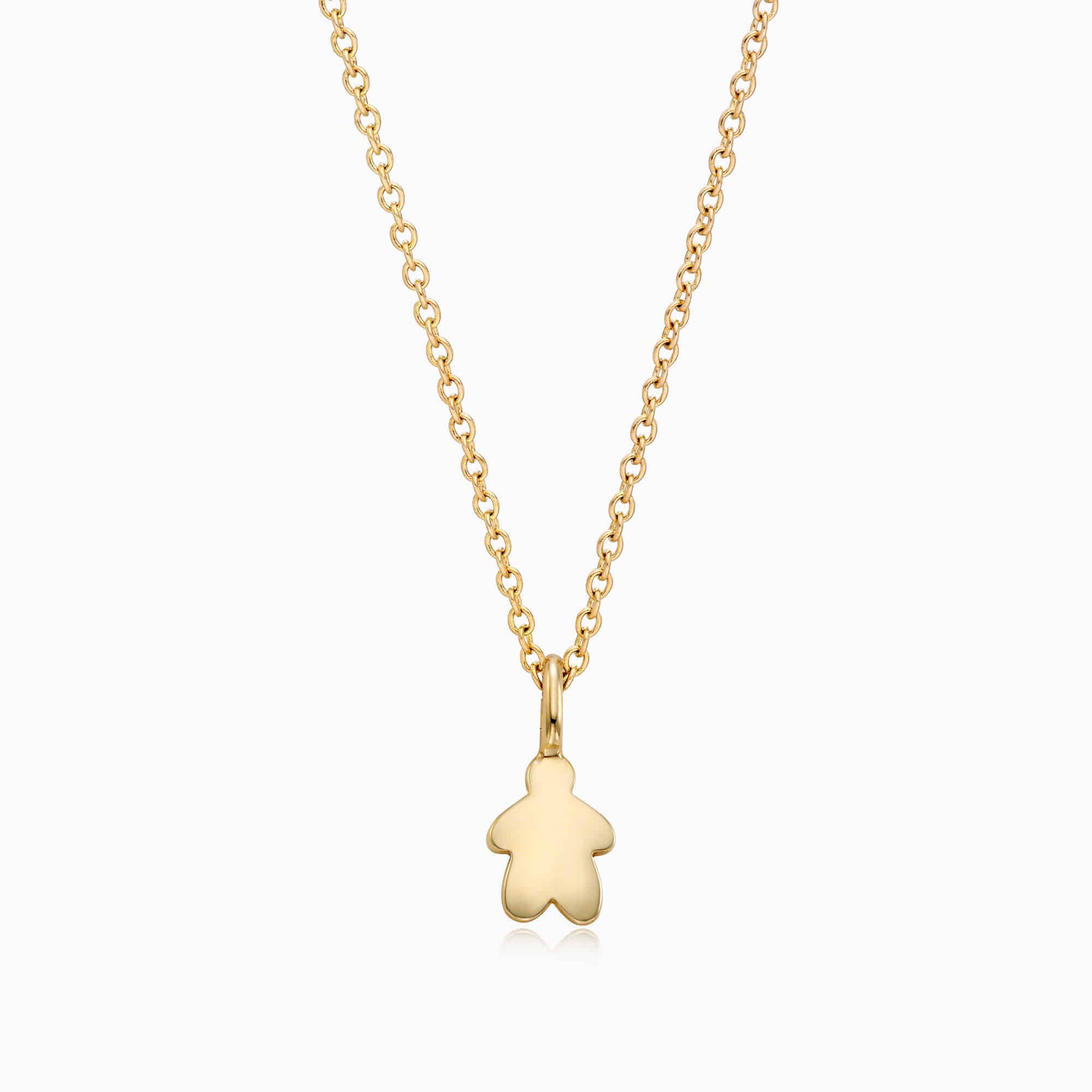 14K/18k Gold Kaiu Hope Necklace - me Necklace