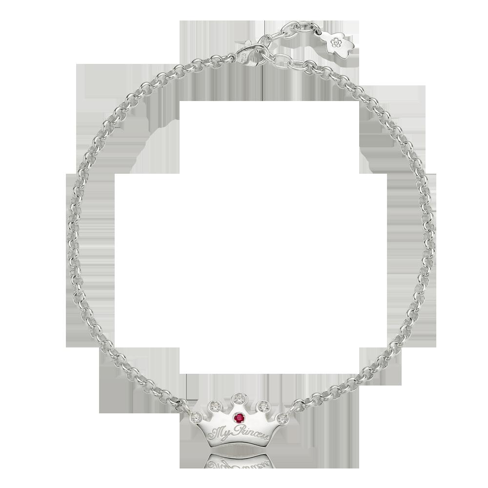 宠物饰品 - 纯银Kaiu Tiara项链个性化雕刻