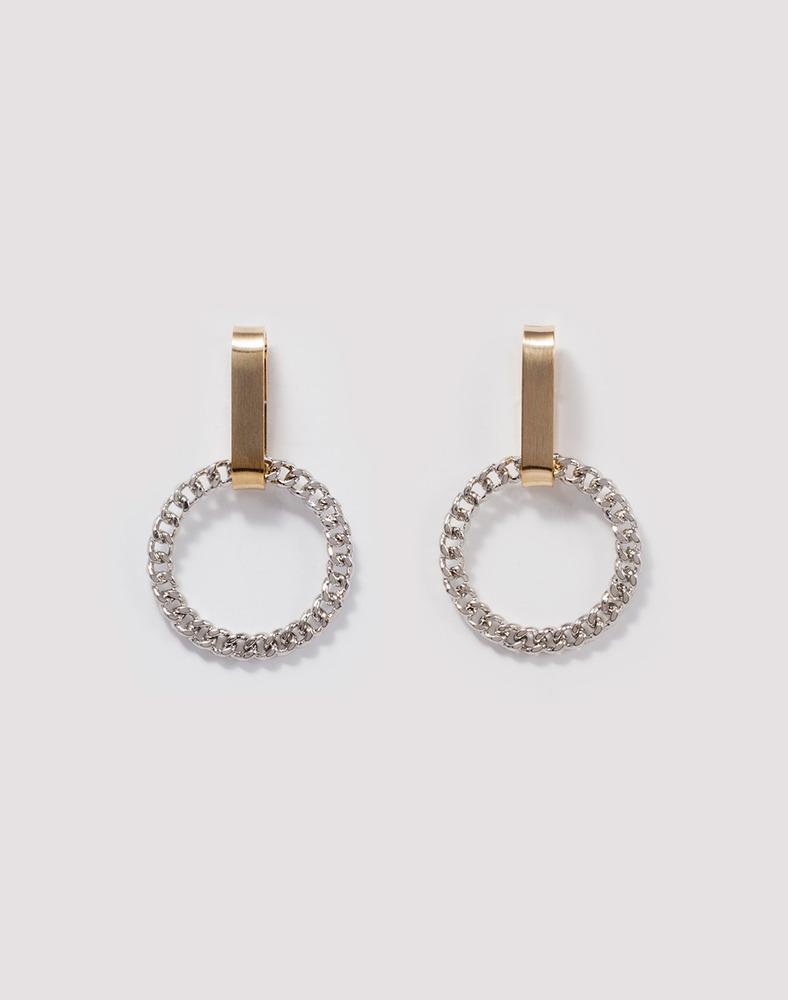 Emily Chain ring Earring