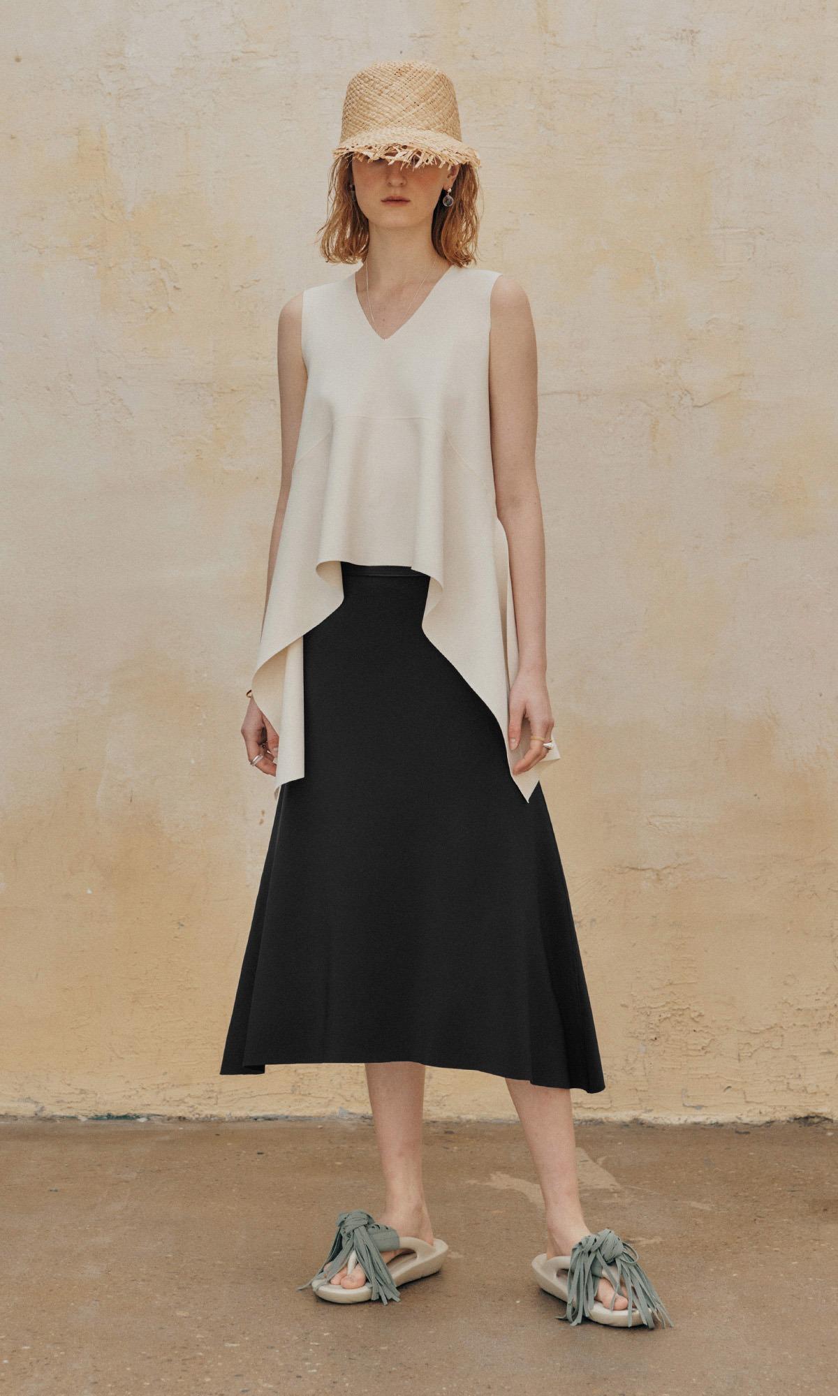 Senior Matt Sealing Skirt_Black (Pre-Order)