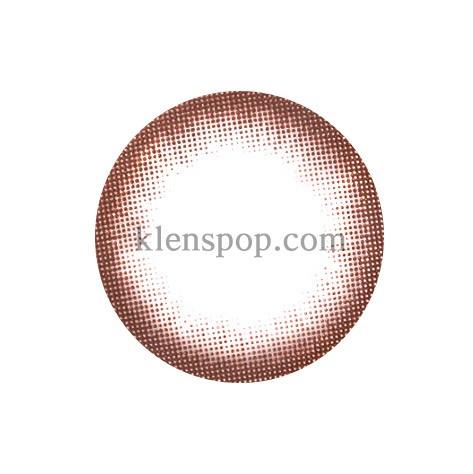 MAGIC EYE CHOCOLATE Graphic Diameter 13.5mmPOLYTOUCHLENSPOP