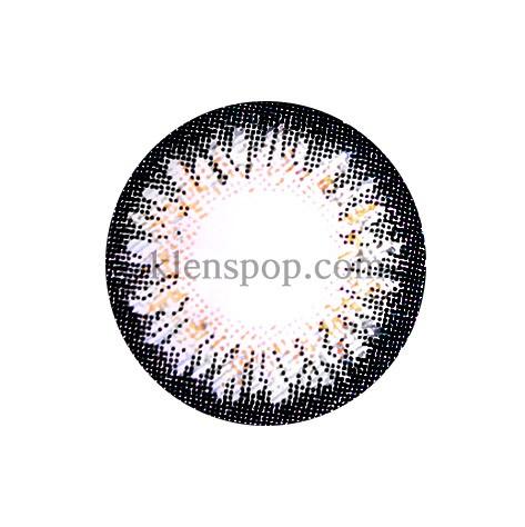 BUNNY 3 COLOR  DAISY GRAY Graphic Diameter 14.5mmLENSPOPLENSPOP