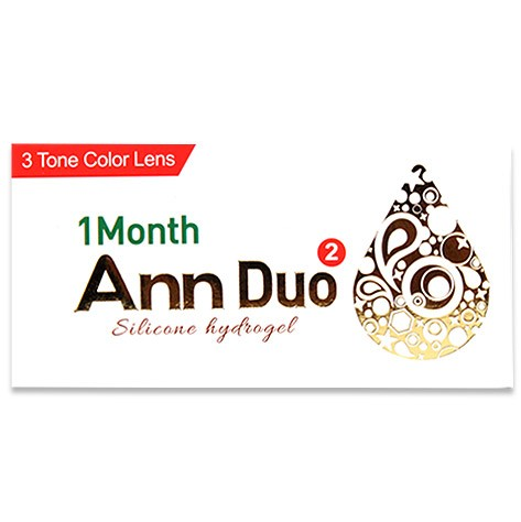 Ann Duo (2pcs) (Silicone Hydrogel) Monthly G.DIA 13.4mmANNLENSPOP