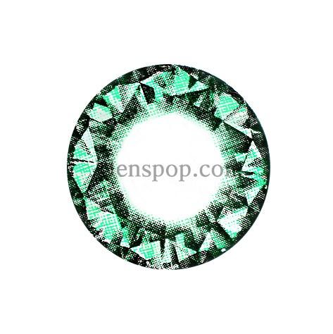 DIAMOND GREEN (VS) Graphic Diameter 14.8mmVASSENLENSPOP