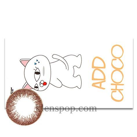 Add Choco (2pcs) (Buy 1 Get 1 Free) Monthly G.DIA 13.6mmLENSPOP[현재분류명]ANN
