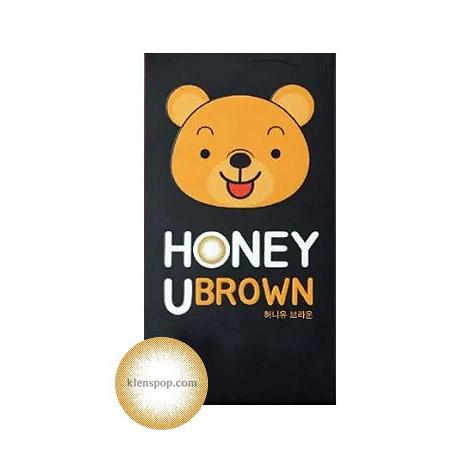 Honey U Brown (2pcs) Monthly G.DIA 12.9mmANNLENSPOP