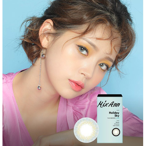 Mix Ann Holiday Sky (2pcs) (Buy 1 Get 1 Free) Monthly G.DIA 12.7mmANNLENSPOP