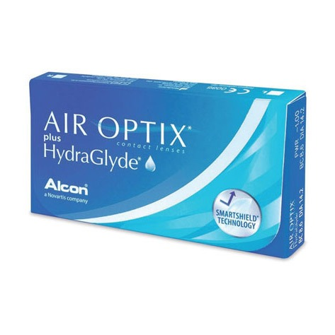 AIR OPTIX PLUS HYDRAGLYDE (6EA) MonthlyCIBA VISIONLENSPOP