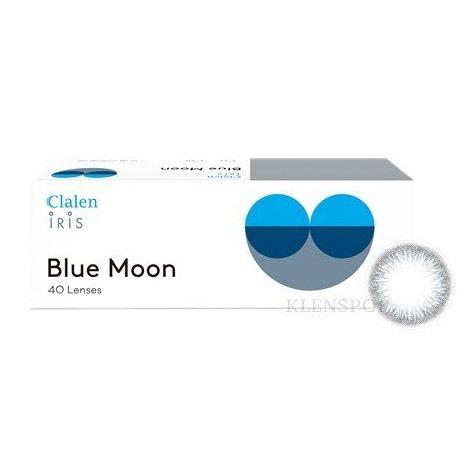 クラレンアイリスブルームーン(CLALEN IRIS BLUE MOON) / ワンデー / 1箱40枚 / 着色 DIA 12.9mmINTEROJOカラコン,