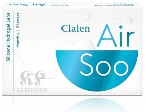 クラレンスエアソ(CLALEN AIR SOO) SILICONE HYDROGEL  / 1ヵ月 / 1箱6枚INTEROJOカラコン,