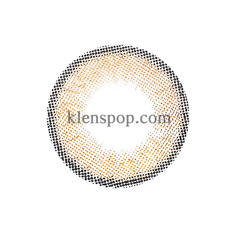 MAO EYE BROWN  Graphic Diameter 13.2mmCI VISIONLENSPOP
