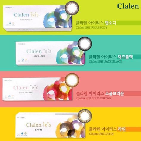 Clalen Iris (Test Lens) (2EA)INTEROJOLENSPOP