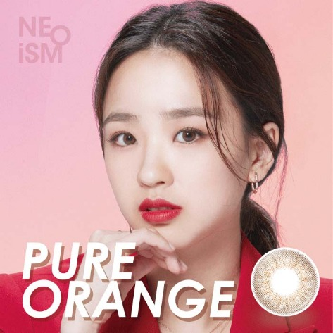 Neo Ism 1Day Pure Orange (50pcs) 1Day G.DIA 13.0mmNEO VISIONLENSPOP