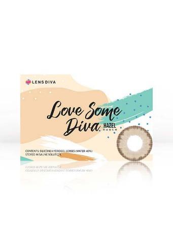 Love Some Diva Hazel  (2pcs) 1Monthly G.DIA 13.0mmLENS DIVALENSPOP