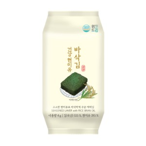 (삼영비앤에프) 위드김 건강한 현미유 바삭김 4g*16봉