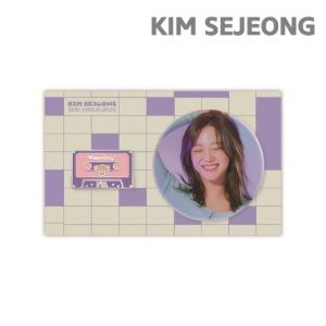 김세정 (KIM SEJEONG) - 2nd MINI ALBUM [I'm] - 뱃지 세트 (Badge SET)