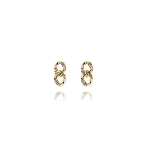 Chain Drop Earrings-S