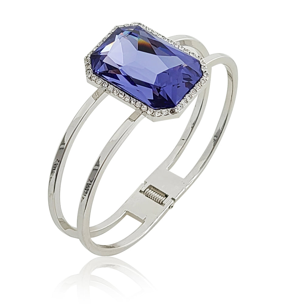 紫水晶尖手镯