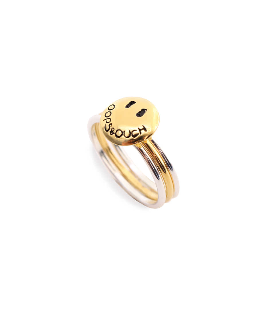 OOPS&OUCH Basic Ring in Gold